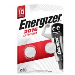 Blister 2 pile CR2016 Lithium - Energizer Specialistiche