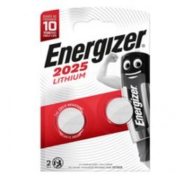 Blister 2 pile CR2025 Lithium - Energizer Specialistiche
