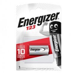 Blister 1 pila 123 Photo Lithium - Energizer Specialistiche