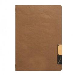 Porta MenU A5-24,9x17,5cm Marrone Nature con 1 INSERTO DOPPIO
