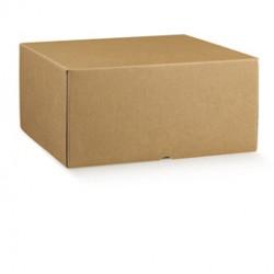 Scatola box per gastronomia dasporto linea Marmotta 30x40x19,5cm avana