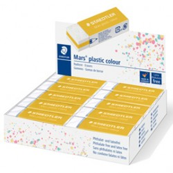 Gomma Mars plastic giallo oro Staedtler