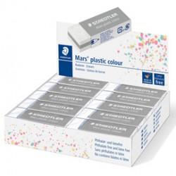 Gomma Mars plastic grigio chiaro Staedtler