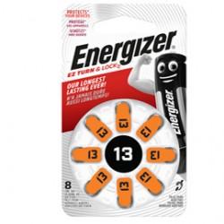 Blister 8 pile per apparecchi acustici 13 Zinc Air Energizer
