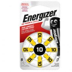 Blister 8 pile per apparecchi acustici 10 Zinc Air Energizer