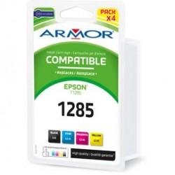 CONF. MULTIPLA 4 CARTUCCE T1281 C/EPSON STYLUS S22 SX125 (1BK 2C/M/Y)
