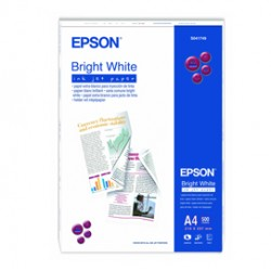 CARTA CARTA BRIGHT WHITE 500fg 90gr 210x297mm A4 FRONTE/RETRO EPSON