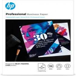 Confezione da 150 fogli carta professionale lucida HP per getto dinchiostro A4