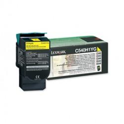 TONER RETURN PROGRAM GIALLO C540 C543 C544 X543 ALTA CAPACITA