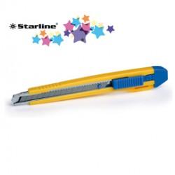 Cutter 9mm con bloccalama Premium Starline
